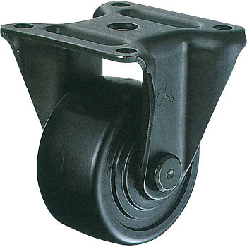 540SR Rigid Caster, Nylon, With Ball B, Wheel, for Low-Floor Heavy Loads