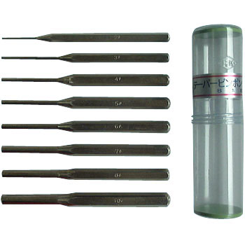 Punch set, Hexagonal Shaft, Taper Pin