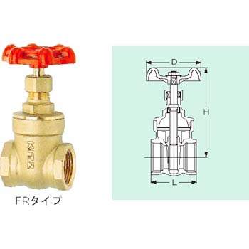 125 Type Gate Valve Fr Series