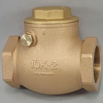 Product Swing Chuck Valve 10K, O SeriesMade From Bronze