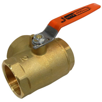 3-Way Ball Valve Seat Surface 2 Brass Type 400, Standard Bore, Tn Series