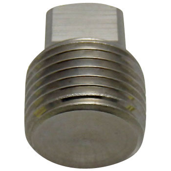 Plug, Screw Type Pipe Fitting