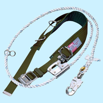 D Kind Safety Belt, 1 Hanging U Letter Hanging CommonNylon Rope