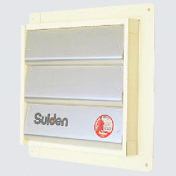 Pressure Ventilation Wall Fan Rain Wind Shutter
