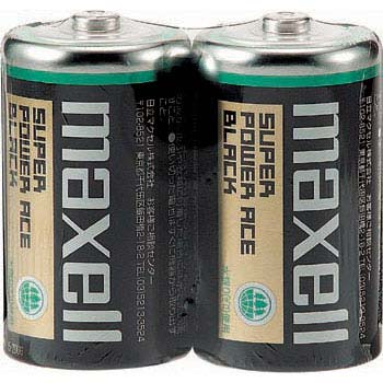 Maxell Manganese dry cell, Super Power Ace Black