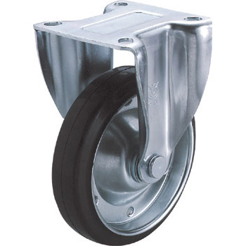 K2 Type Rigid Caster , Rubber Wheel