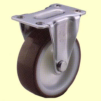 GR Type Rigid Caster, Urethane Wheel