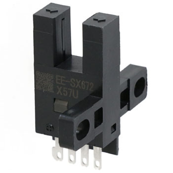 Photograph Microsensor Groove Type Connector Type, Direct/Continuous Current IlluminationEe-Sx67