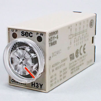 Solid-State Timer H3Y-4, DC Power Source