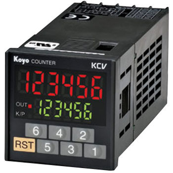 Subtraction Step Preset Counter KCV Series