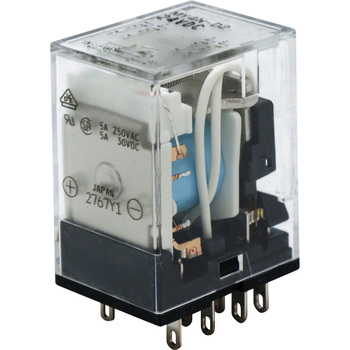 NEW CONDITION OMRON MY4N-D2 24VDC RELAYS NO BOX SET OF 2
