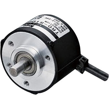 Rotary encoder shaft type , Open collector output