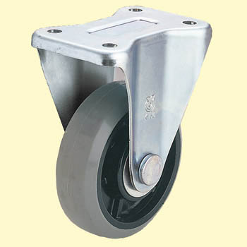 Rigid Caster, Urethane-Wheel