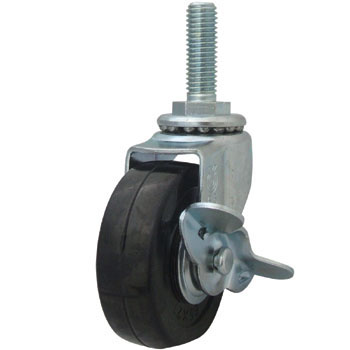 Screw Type LT Swivel Caster with Brake