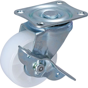 SG Type Swivel Caster, Nylon Wheel, Double Bearing
