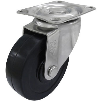 Plate-Type SUS-SG Swivel Caster, Double Bearing