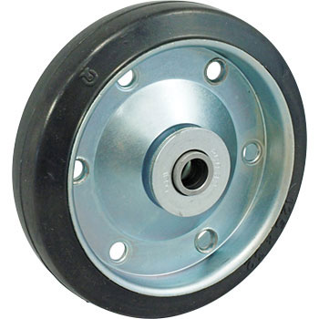 Wheel, Steel Sheet Foil Made Rubber, Bearing EntranceCar