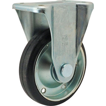 K-Rigid Caster, Rubber Wheels