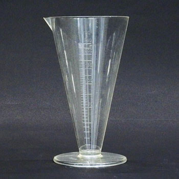 Fluid Volume Meter Cone Type