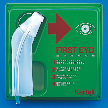 PE500mL #2396 Eyewash Bottle With Panel
