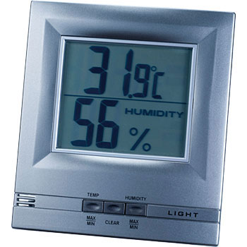 EL Light with Digital Temperature and Humidity Meter