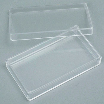 Styrene Square-Shaped Container