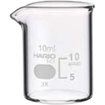 Beakers, Griffin, low form with spout, 20mL
