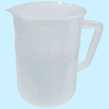 Fine Deposit Beakers Made of Pe