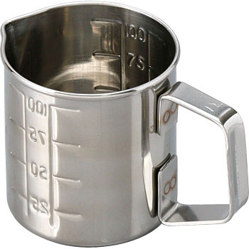 Stainless Steel Scaled Beaker With Handle