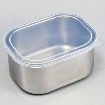 Square Sealed Container Stainless Steel 18-8, SUS304
