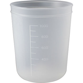 PP Disposable Beaker, No Spout