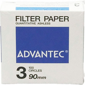 Circular Fixed-Quantity Filter-Paper No.3