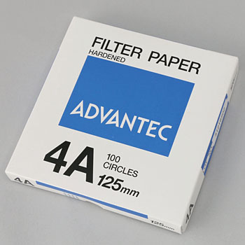 No.4A Circular Rigid Filter Paper