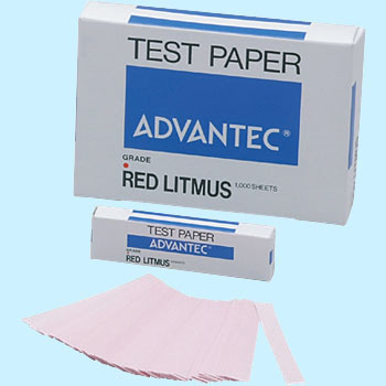 Litmus Paper, Alkali Detection