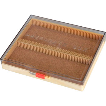 Prepared Slide Box with Clear Lid