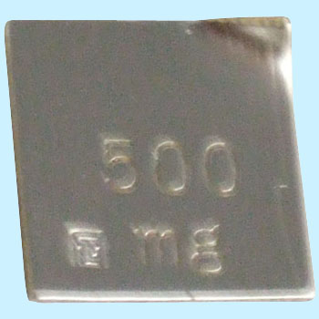Scale Weight 500mg
