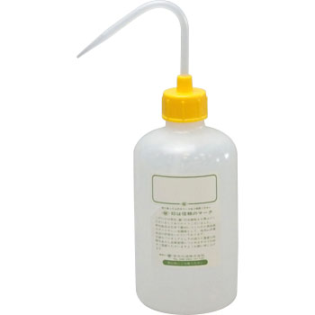 Color Cap Narrow Mouth Wash Bottle