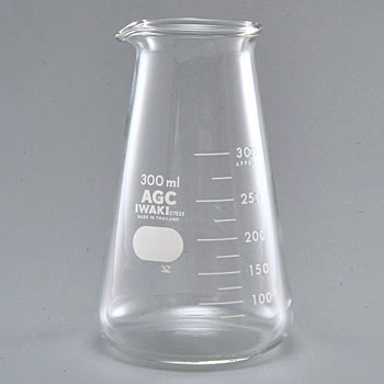 Conical Beaker, With Approximate Scale