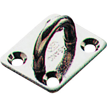 Stainless steel eye plate
