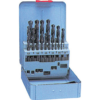 Ironworks drills, 19 piece set