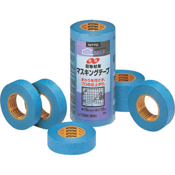 Masking Tape No.7286 for Masonry Joint Sealing