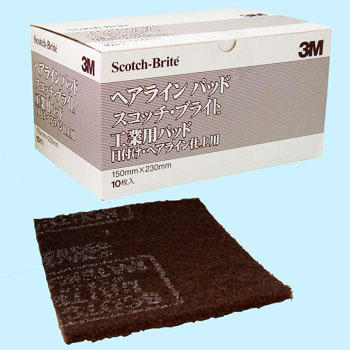 Scotch-Brite industrial pad hairline pad
