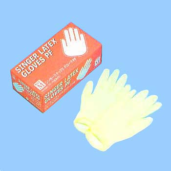 Singer Latex Gloves