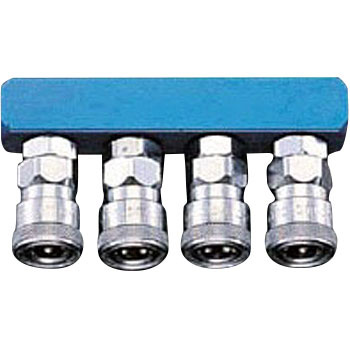 Quadruplet Coupler Socket