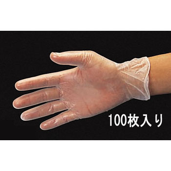 Plastic Gloves, M size