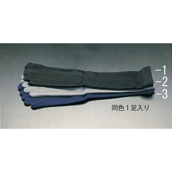 5-finger socks [gray]