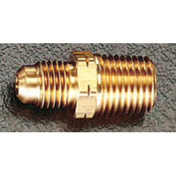 NPT1/8xF1/4 inches, Flare, Half Union