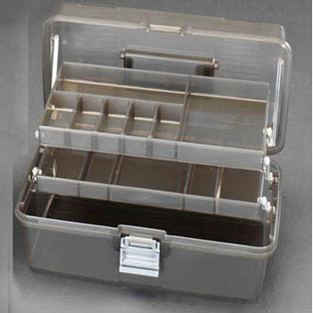 342x211x161mm,  Tool Box with 3stage tray