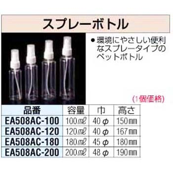 100mL Spray Bottle