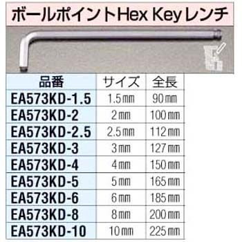 1.5mm ball point HexKey wrench